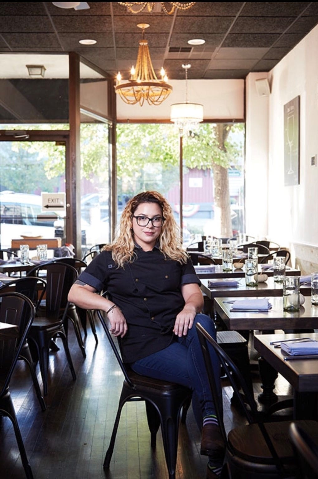 Leia Gaccione, chef of South + Pine in Morristown and Central + Main in Madison.