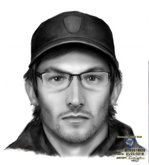 Glen Ridge police are searching for a man who entered the high school Jan. 15, 2019.