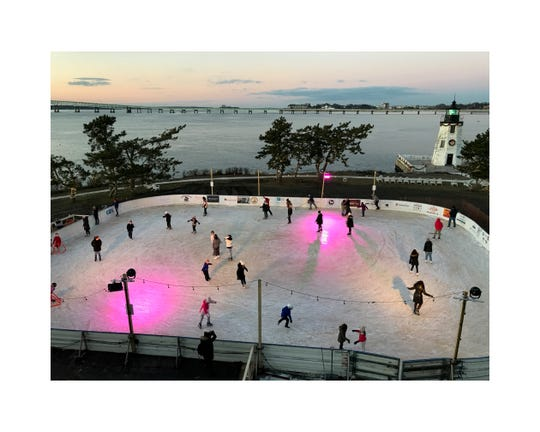 Gurney's Newport skating rink.