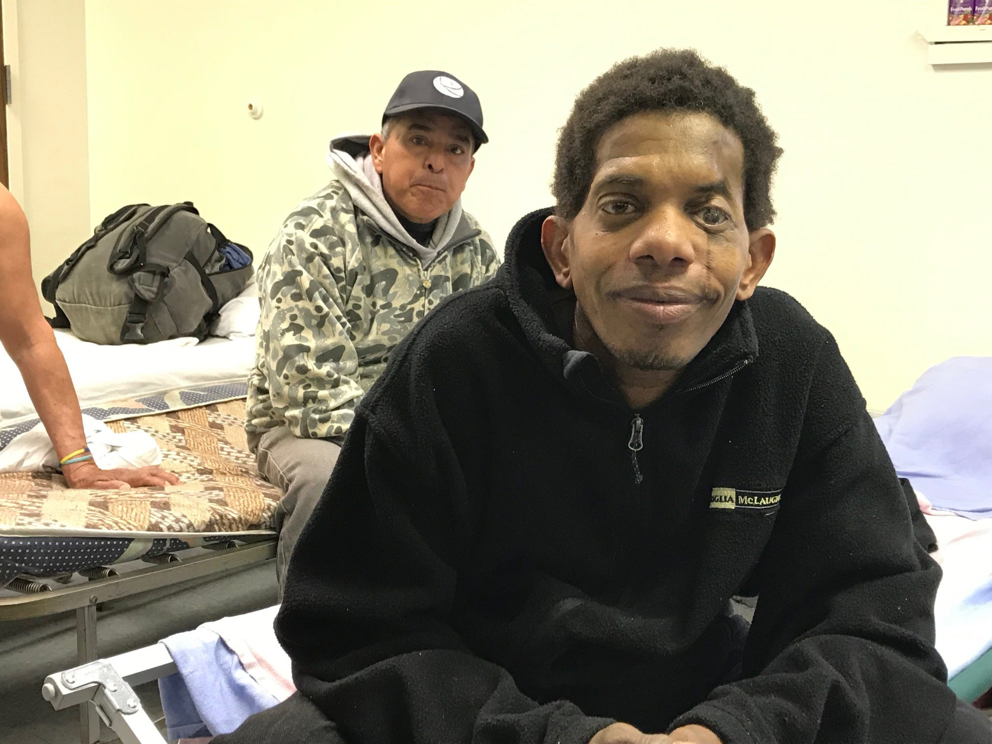 Richard Laywood came from Cuba after an auto accident that messed up his left eye four years ago. He's having a hard time getting companies to hire him.