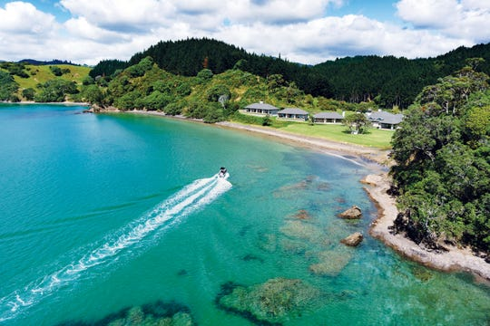 Helena Bay Lodge in Northland, New Zealand