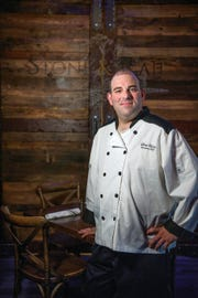 Executive Chef Adam Weiss at Stone & Rail Restaurant and Bar on Wednesday, July 11, 2018.