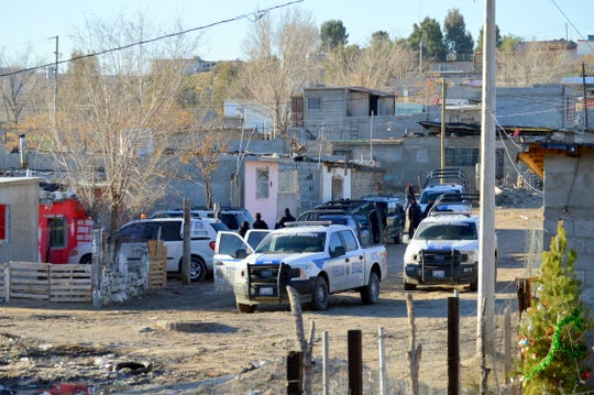 A subsequent investigation revealed the location of the stash house in Colonia Rancho Anapra south of Sunland Park, NM, where the two males claimed they were held and extorted for money.