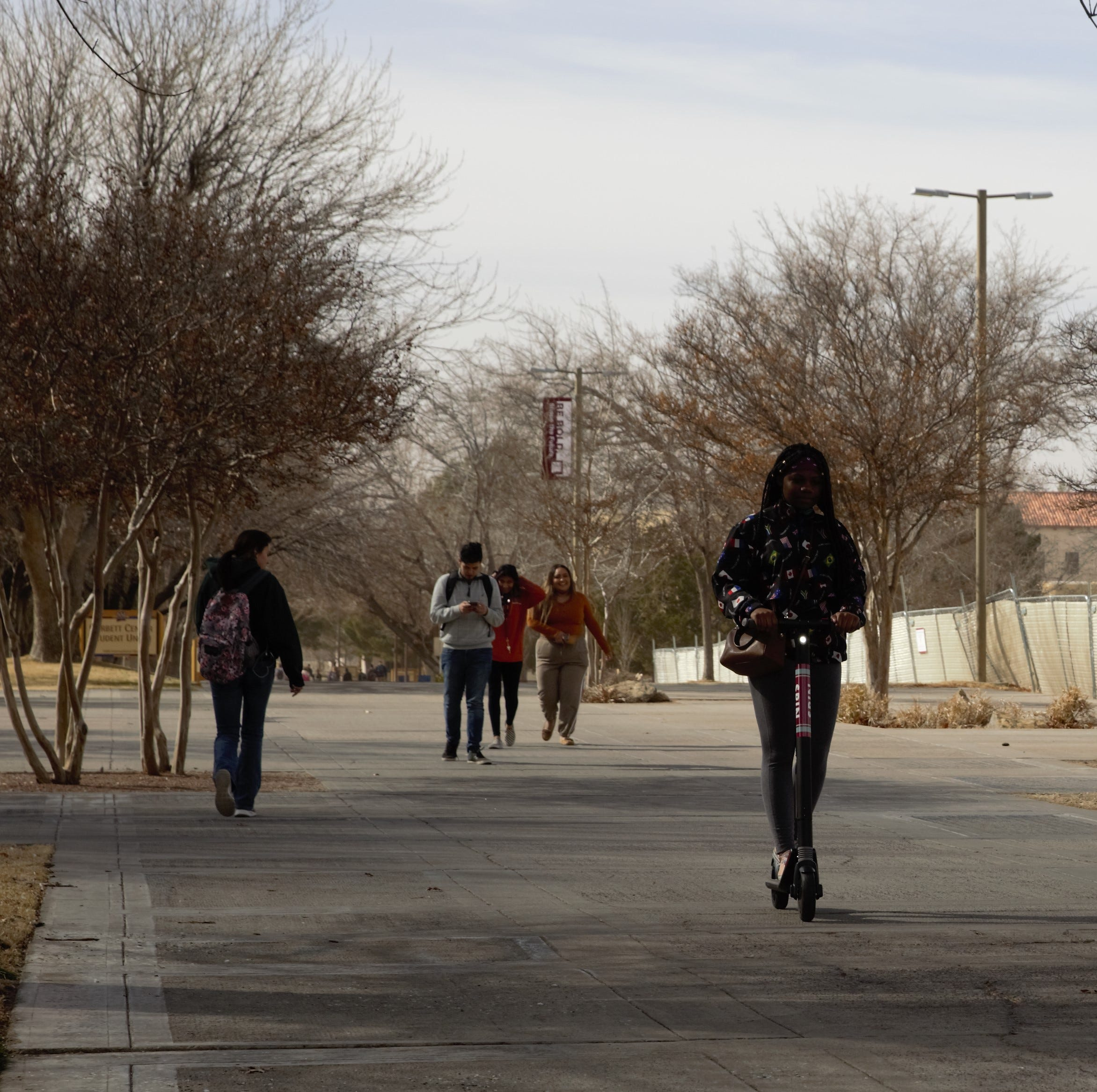 Spin scooters return to NMSU campus after dispute resolved
