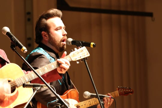 Taylor Malpass Jan. 22 at P.R. Leyva Auditorium in Carlsbad, New Mexico. The Malpass Brothers opened the 2019 Carlsbad Community Concert Association season.