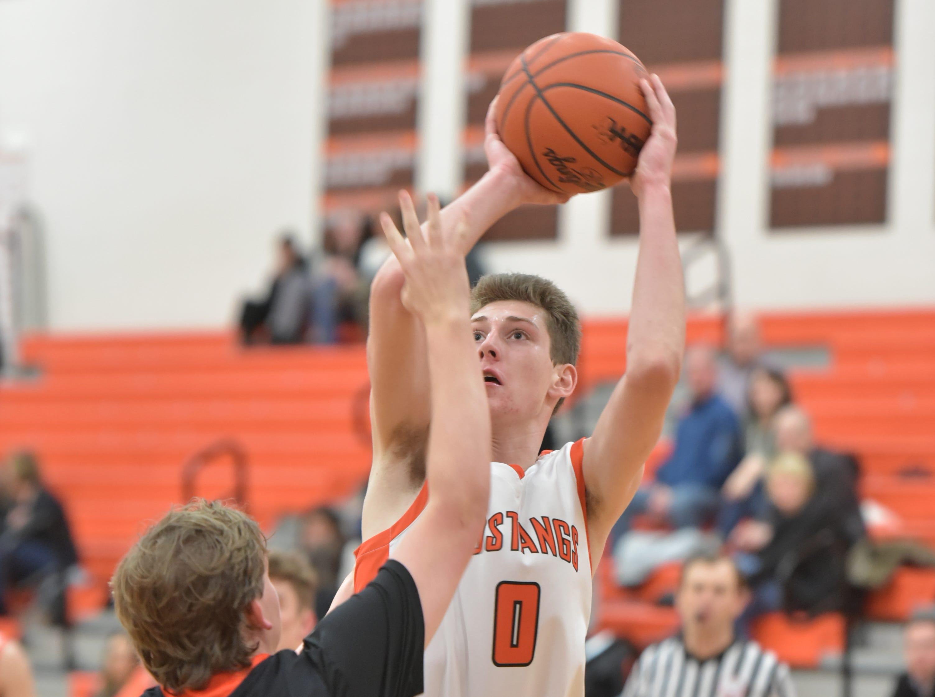 Northville High's Zach Shoemaker.