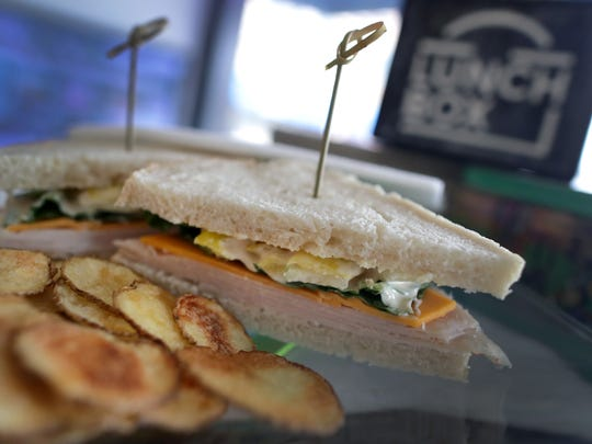 A Bambino sandwich plate with kettle chips at The Lunch Box restaurant on Friday, January 18, 2019, in Oshkosh, Wis. Wm. Glasheen/USA TODAY NETWORK-Wisconsin.