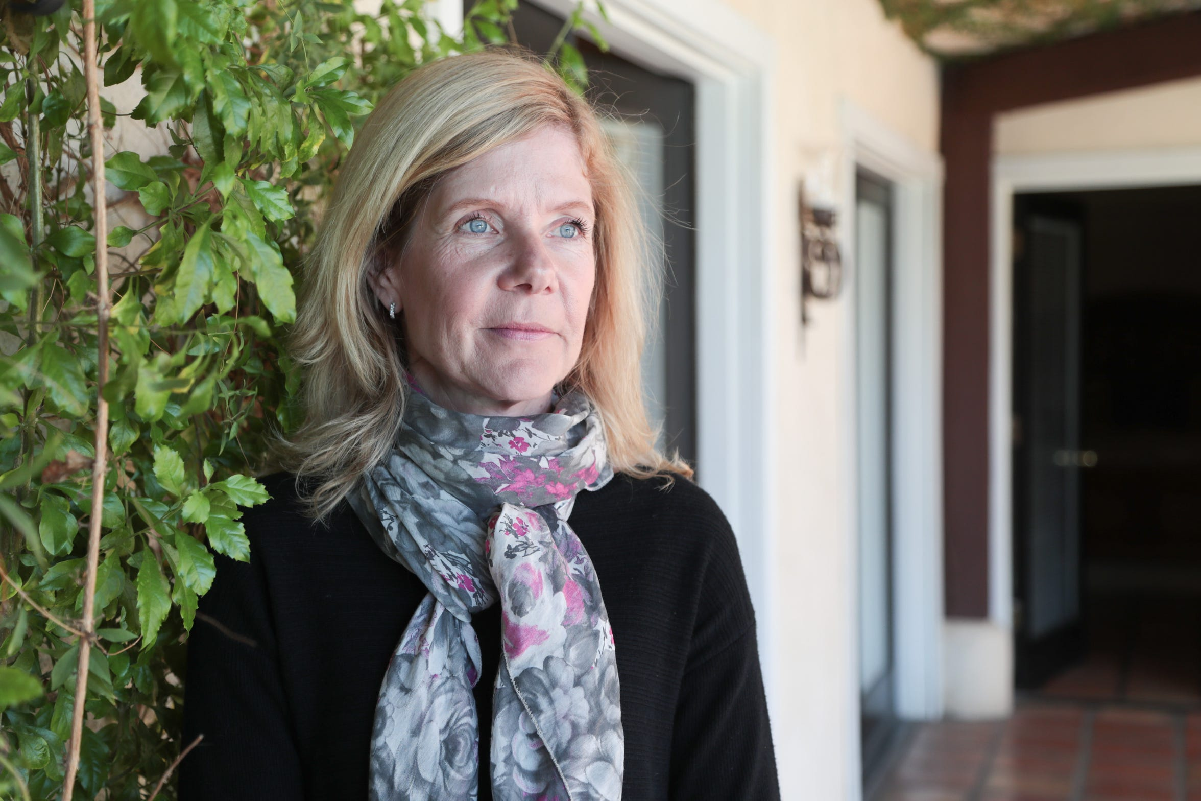 Cornelia Schuster is the owner of La Maison Hotel in Palm Springs. She's concerned that the development of larger hotels will hurt business for small hotels like hers.
