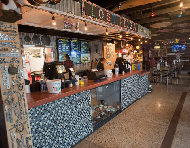 The Lost Pizza Co. is now open in Pensacola as of Wednesday, Jan. 23, 2019.  The Miss-based franchise offers diners a diverse menu in a fun and funky blues-inspired atmosphere.