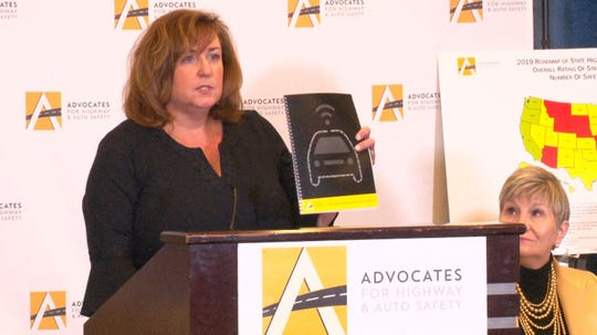 """Cathy Chase, president of Advocates for Highway and Auto Safety, said states are """"mired in mediocrity"""" when it comes to adopting highway-safety laws, and Arizona is one of the worst."""