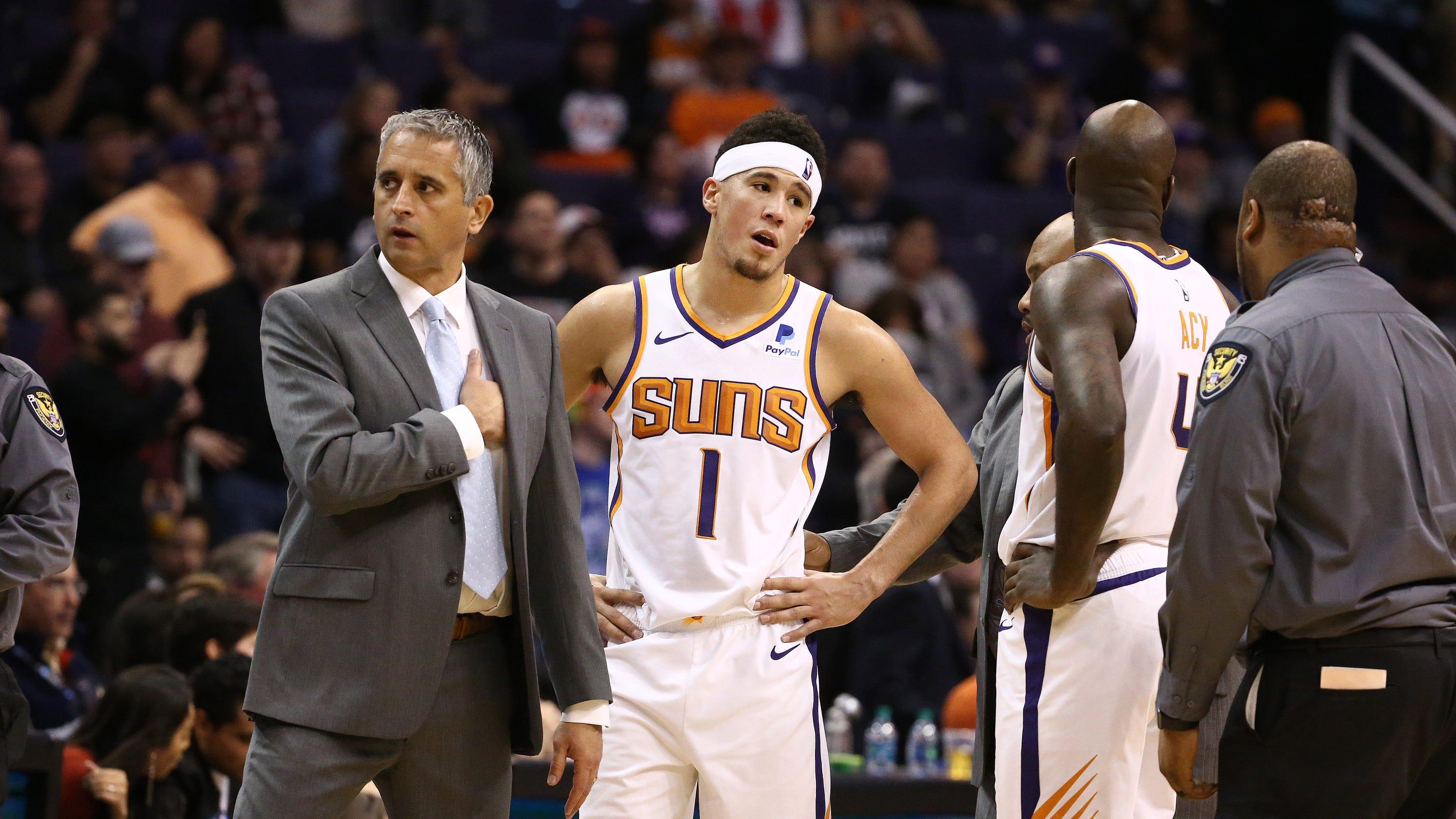 914435c9a Phoenix Suns  Respect main reason Devin Booker went after Gorgui Dieng