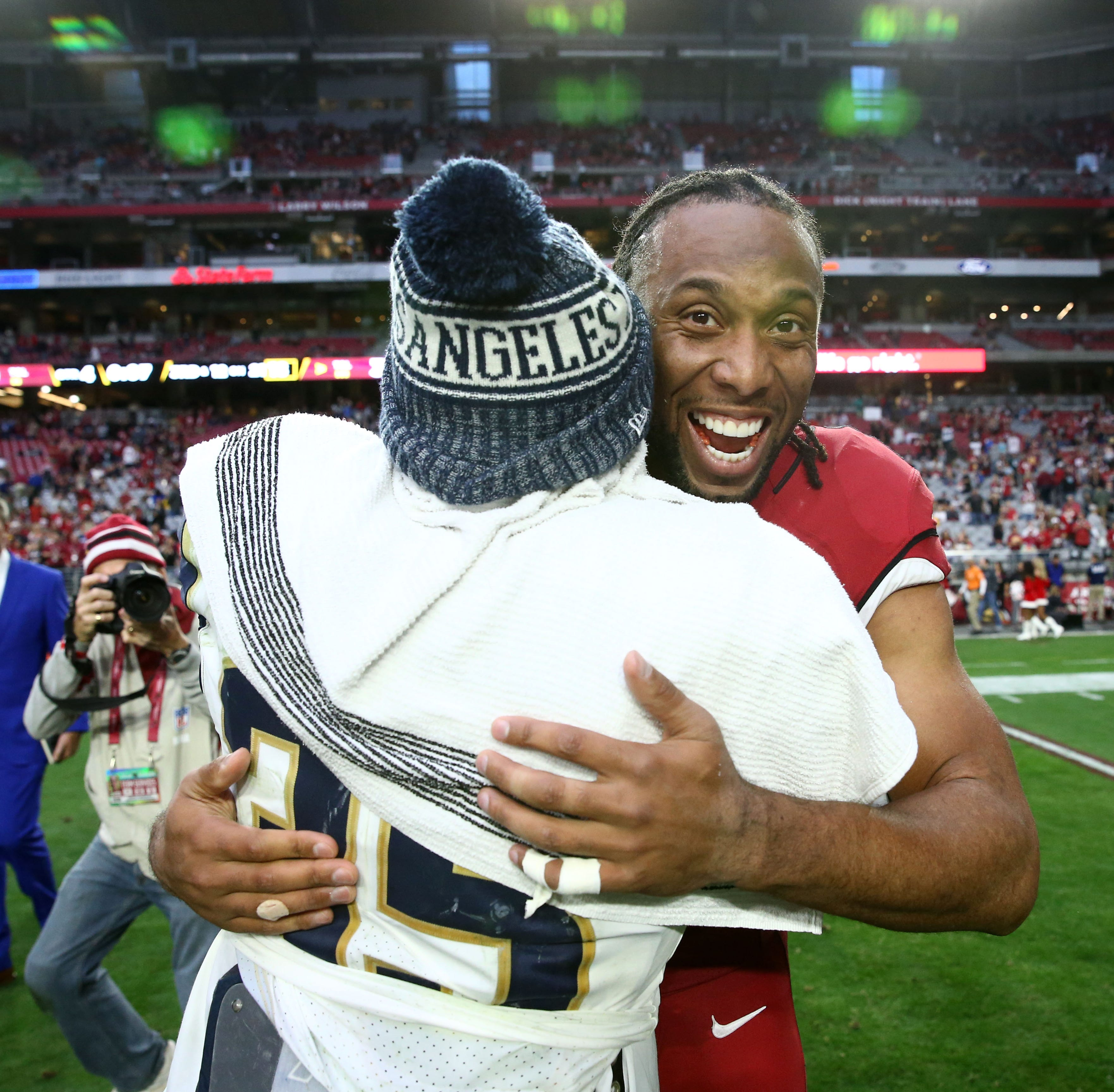 Why Larry Fitzgerald can't quit football