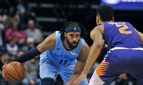 Mike Conley averaged 21.1 points with 6.4 assists per game for the Grizzlies last season.