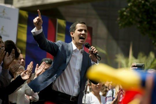 Juan Guaidó, líder opositor del gobierno de Nicolás Maduro en Venezuela.