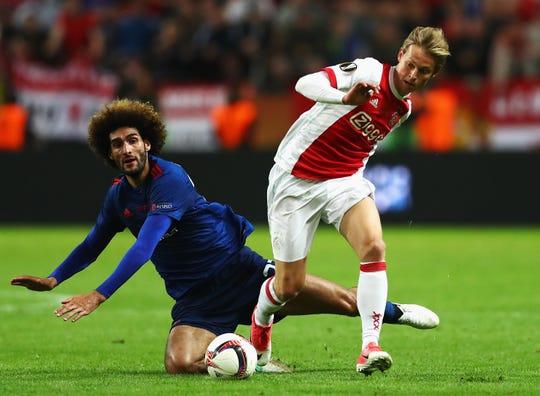 Frenkie De Jong ha sabido sobresalir en el cuadro del Ajax, pese a su corta edad.