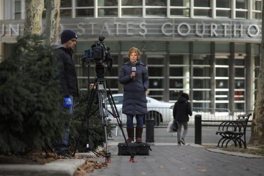 """Esta es la Corte en Brooklyn donde se lleva a cabo el juicio a """"El Chapo"""" Guzmán."""