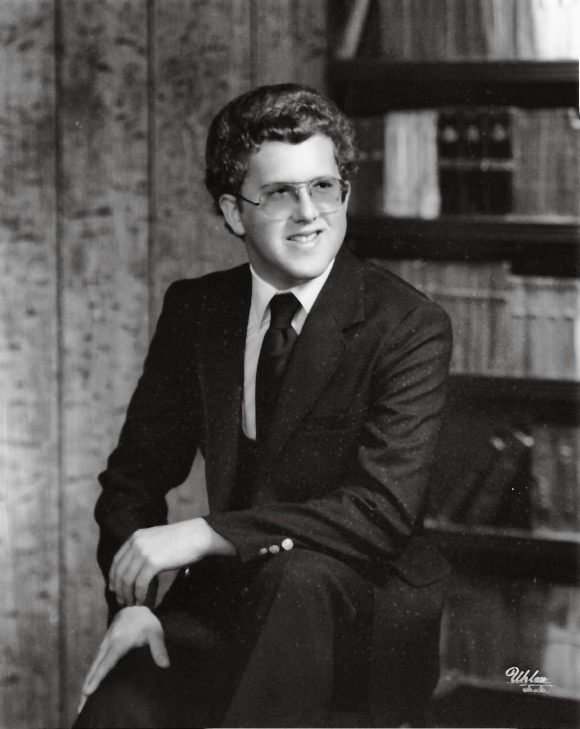 Robert Howard, pictured in 1981