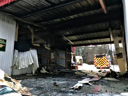 Roosevelt and Fairview fire departments responded to a structure fire at Foam and Wash Car Wash in Hyde Park Wednesday morning as seen on Jan. 23, 2019.