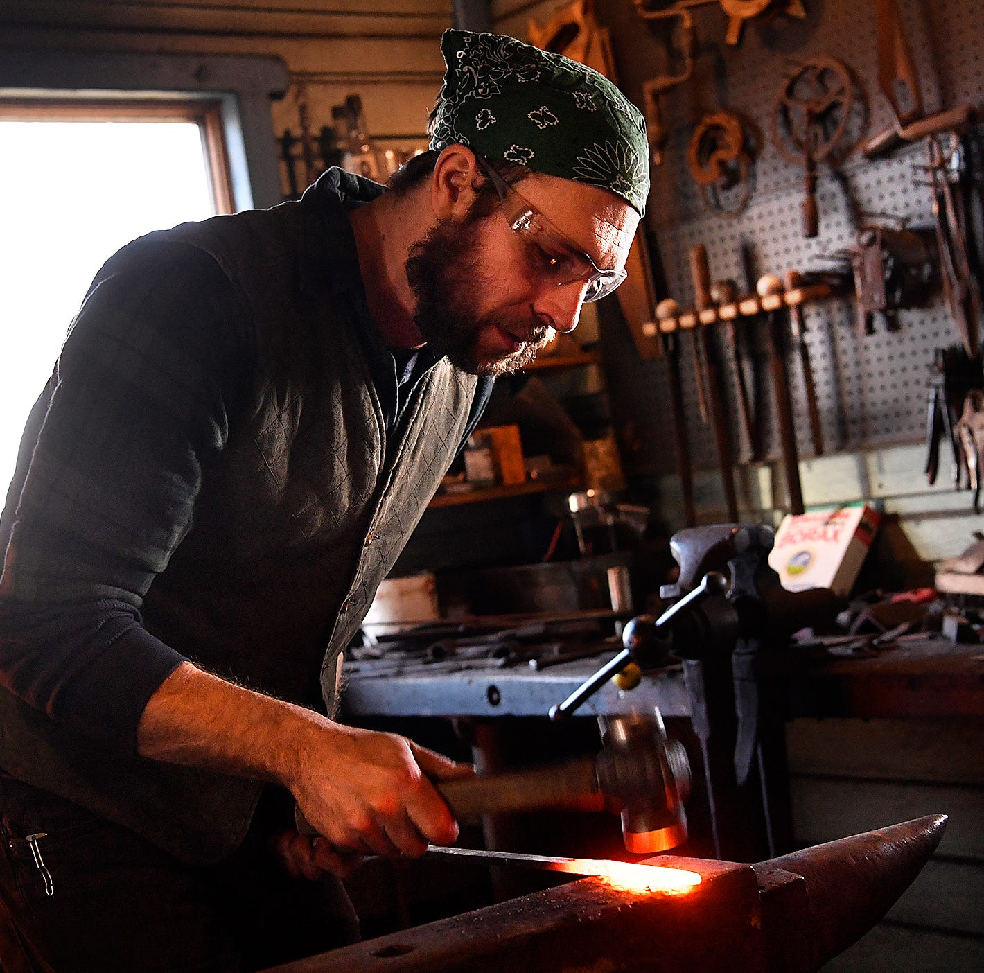 Fawn Grove blacksmith preserves tradition, competes on The History Channel
