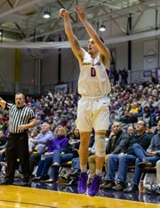 "Despite some freshman struggles, Antonio Rizzuto scored a season-best 21 points in Albany's recent loss to Stony Brook. His former AAU coach, Pat McGlynn predicts that Rizzuto will be a 20 point-per-game scorer and all-league performer by his junior season. ""I've known that kid for so long. He's not going to fold and he's going to overcome,"" McGlynn said. ""Next year he's going to be that much better and stronger, and he wants it."""