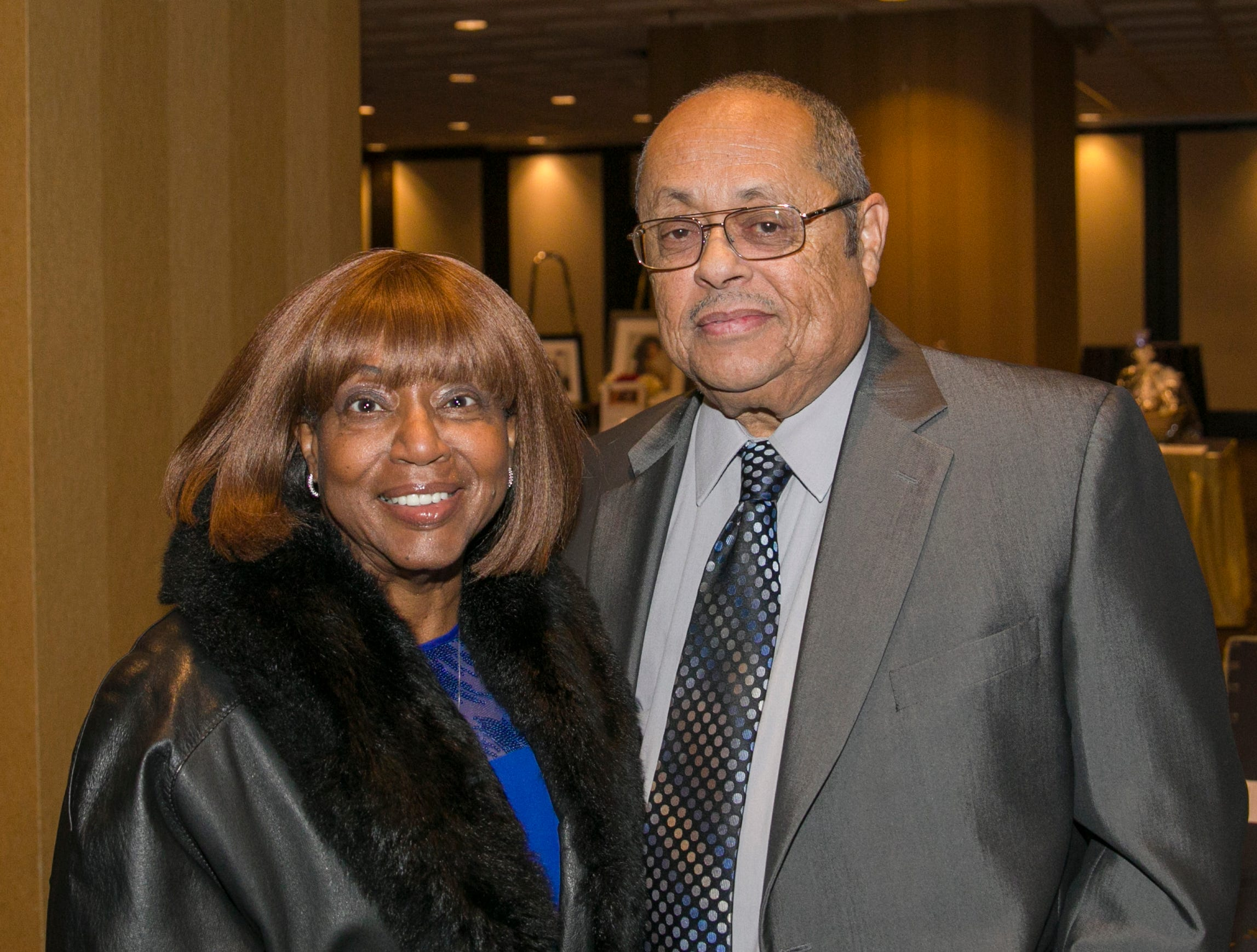 Jerry and Mary Holloway during the 31st Annual Martin Luther King, Jr. Birthday Celebration Dinner at the Atlantis Casino Resort Spa on Monday, January 21, 2109 in Reno, Nevada.