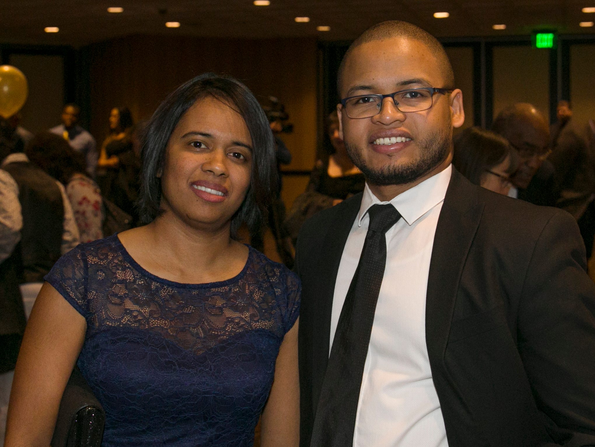 Sylvana and Neat Randriamialison during the 31st Annual Martin Luther King, Jr. Birthday Celebration Dinner at the Atlantis Casino Resort Spa on Monday, January 21, 2109 in Reno, Nevada.