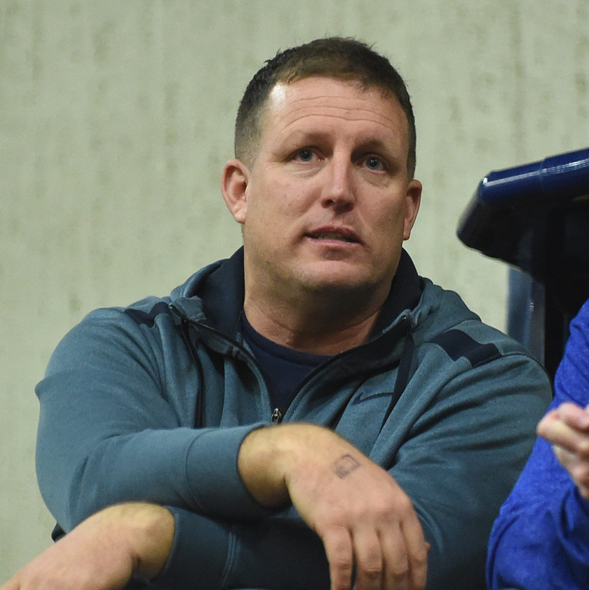 New Reno football coach brings energy, enthusiasm
