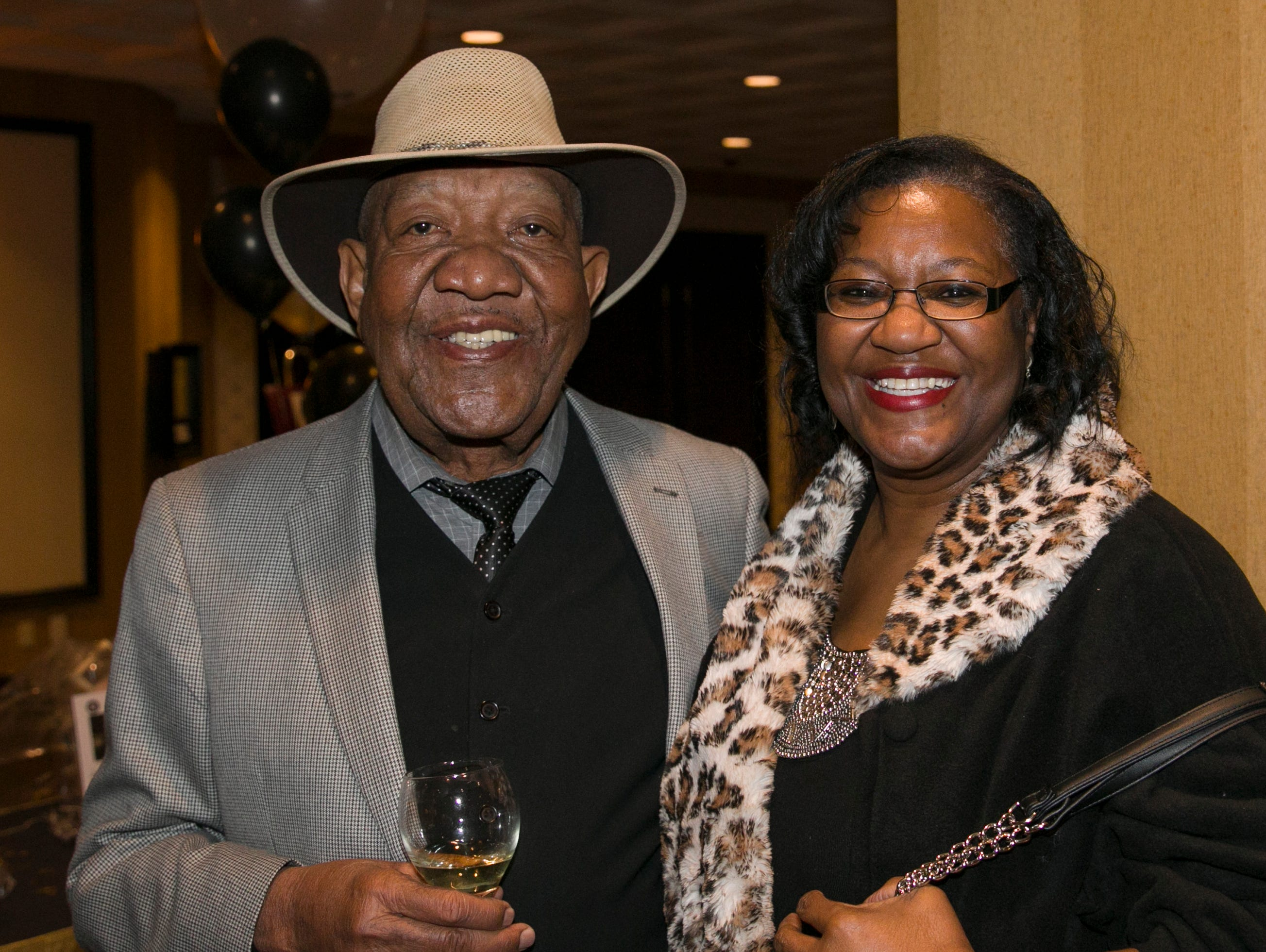 Frank Boyd and Linda Hill during the 31st Annual Martin Luther King, Jr. Birthday Celebration Dinner at the Atlantis Casino Resort Spa on Monday, January 21, 2109 in Reno, Nevada.