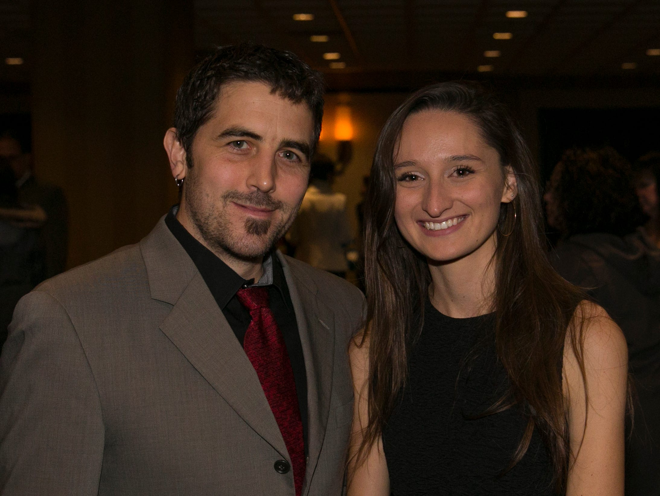 Dan Pike and Hannah Ottenhoe during the 31st Annual Martin Luther King, Jr. Birthday Celebration Dinner at the Atlantis Casino Resort Spa on Monday, January 21, 2109 in Reno, Nevada.