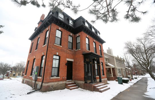 The 1880 building was completely renovated and separated into apartments.