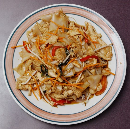Esan Thai is known for its Drunken Master Noodles dish