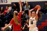 The Santiam vs. Kennedy girls basketball game at Kennedy High School in Mt. Angel on Tuesday, Jan. 22, 2019. Kennedy won the gam 62-49.