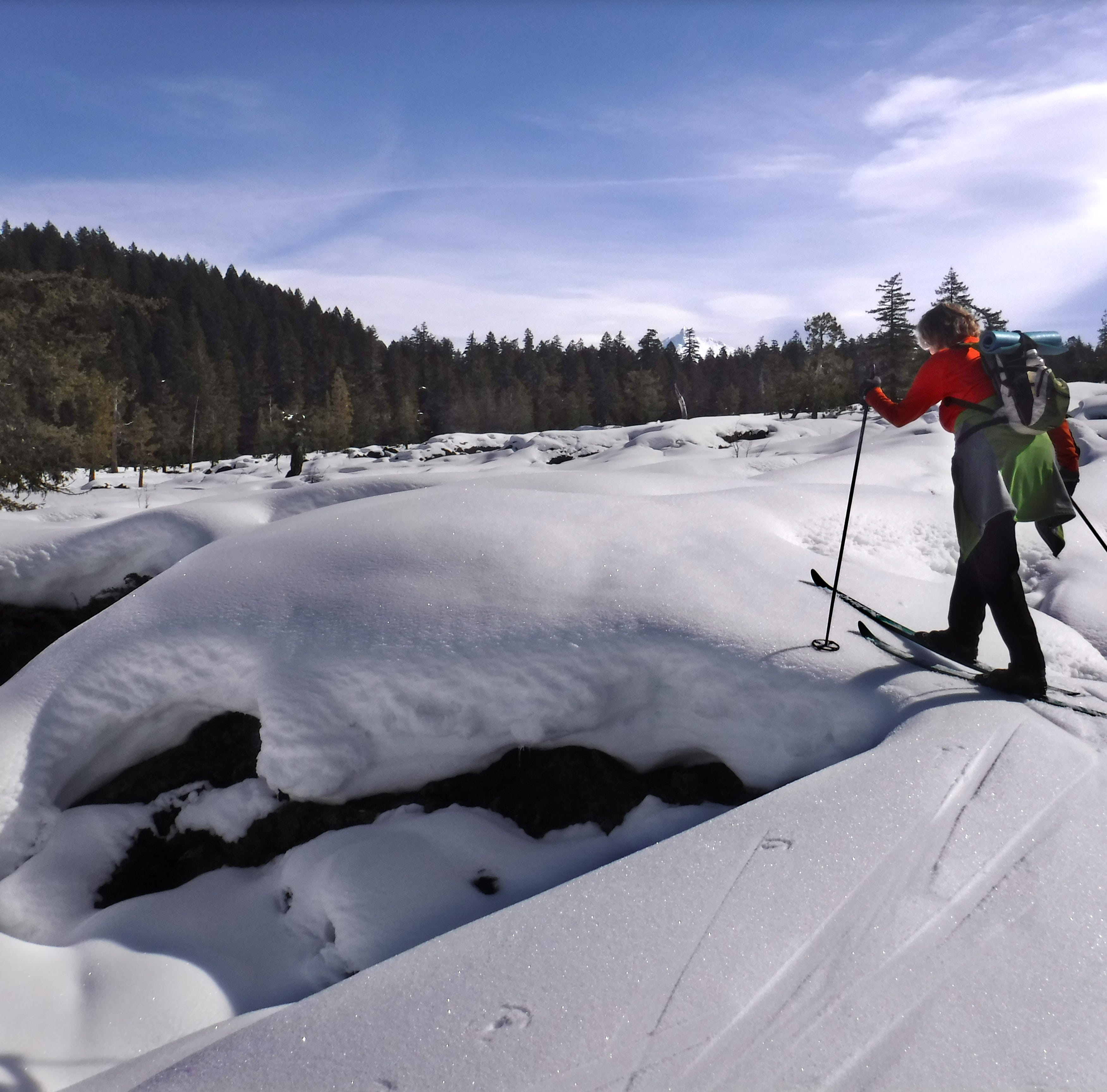 Skiing On Lava: The Mt. Washington Wilderness in winter