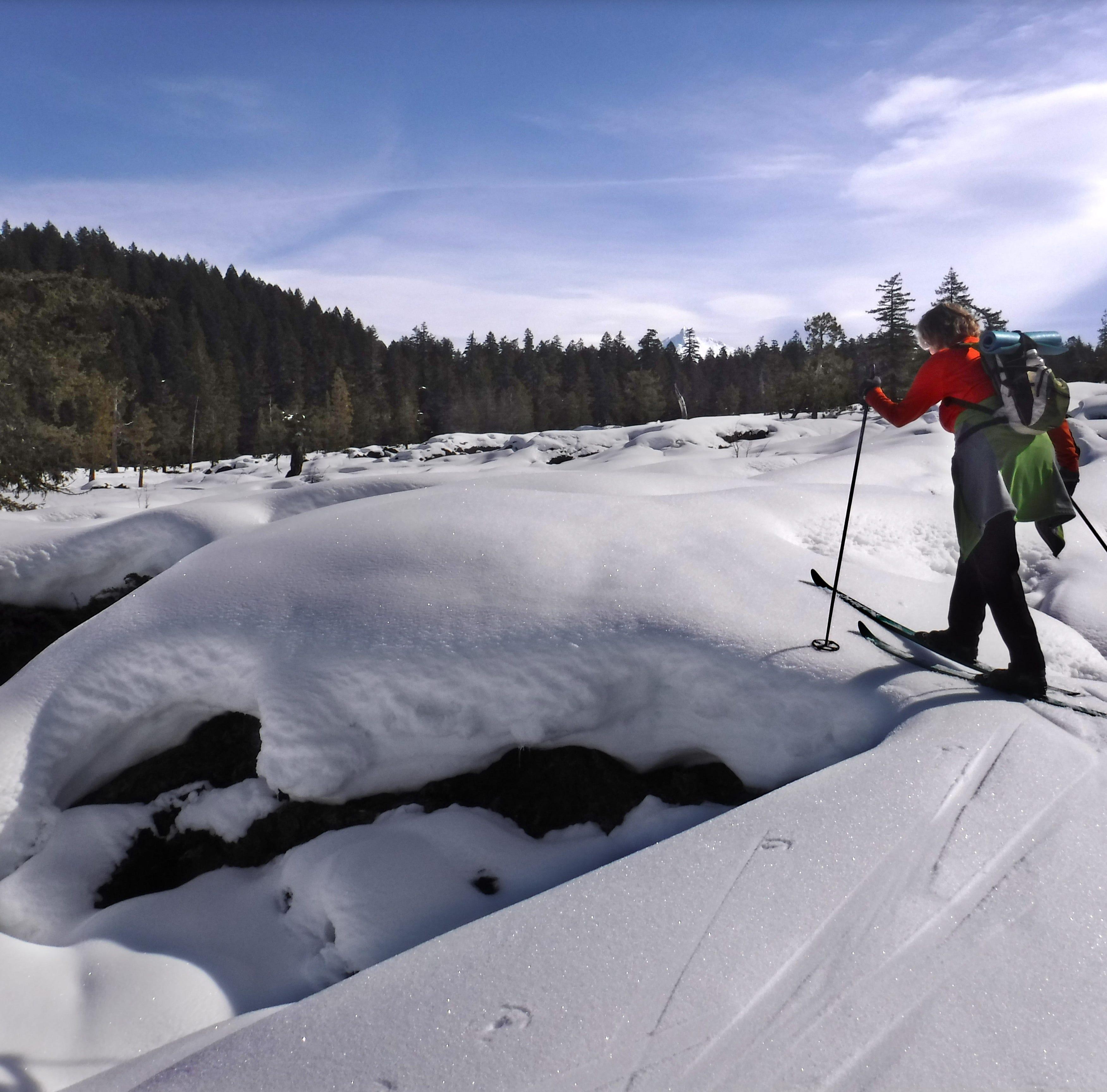 Skiing On Lava:The Mt. Washington Wilderness in winter