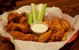 Legend Larry's focuses on wings with their specialty sauces.