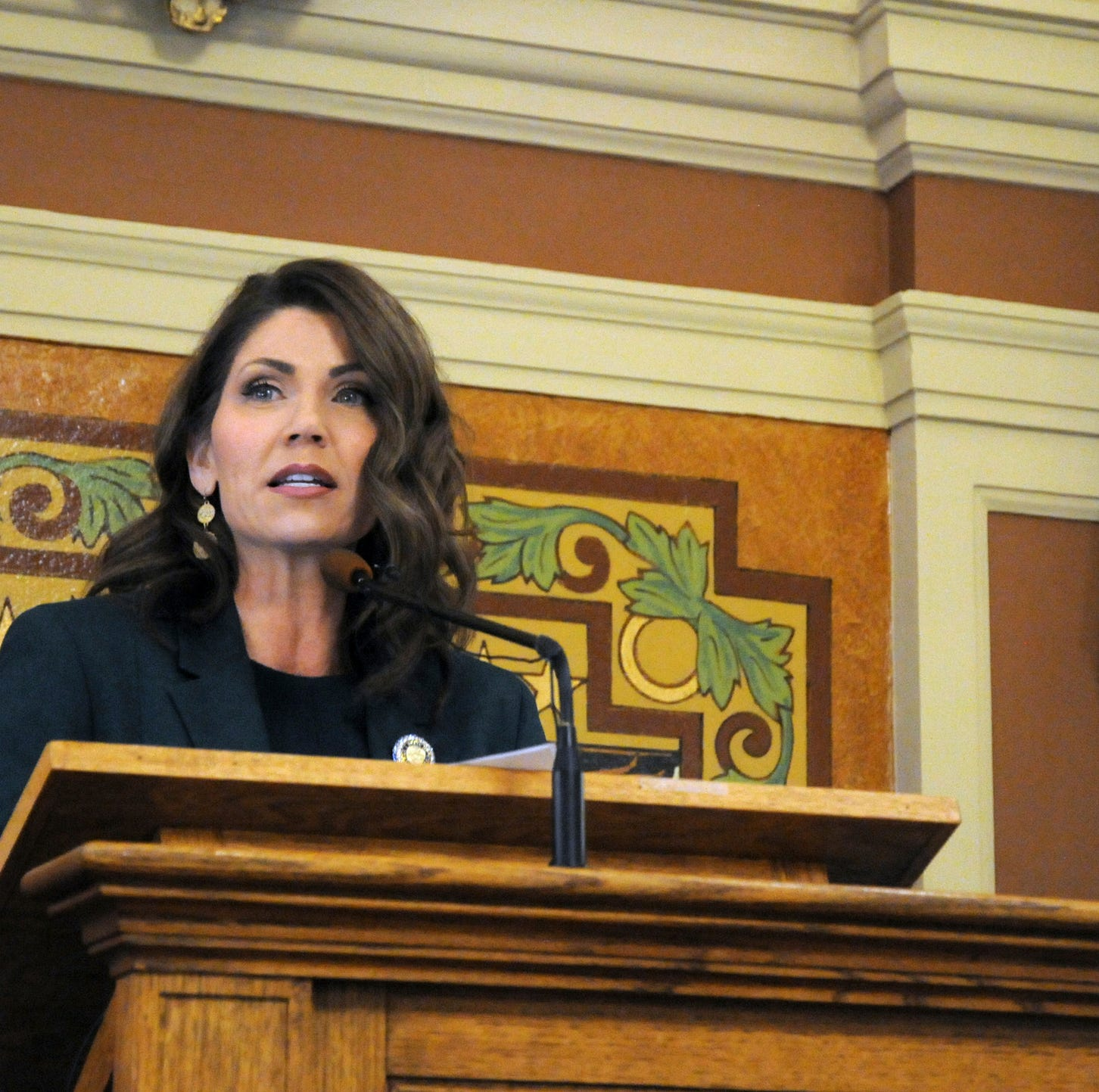 Noem committed to fiscal responsibility in first budget address as governor