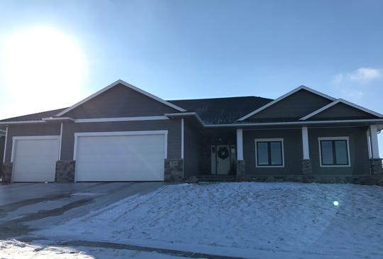 This home, at 7218 S. Sierra Trail in the Copper Creek development of east Sioux Falls,sold for $440,000, topping our home sales list for the week ending Dec. 7.