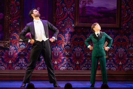 "Jeff Sullivan and Seth Erdley in ""Finding Neverland."""