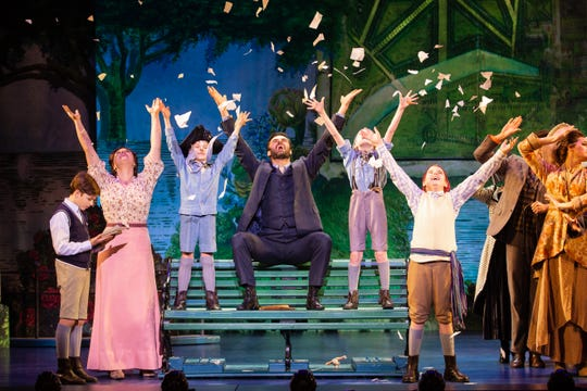 """The company of """"Finding Neverland."""""""
