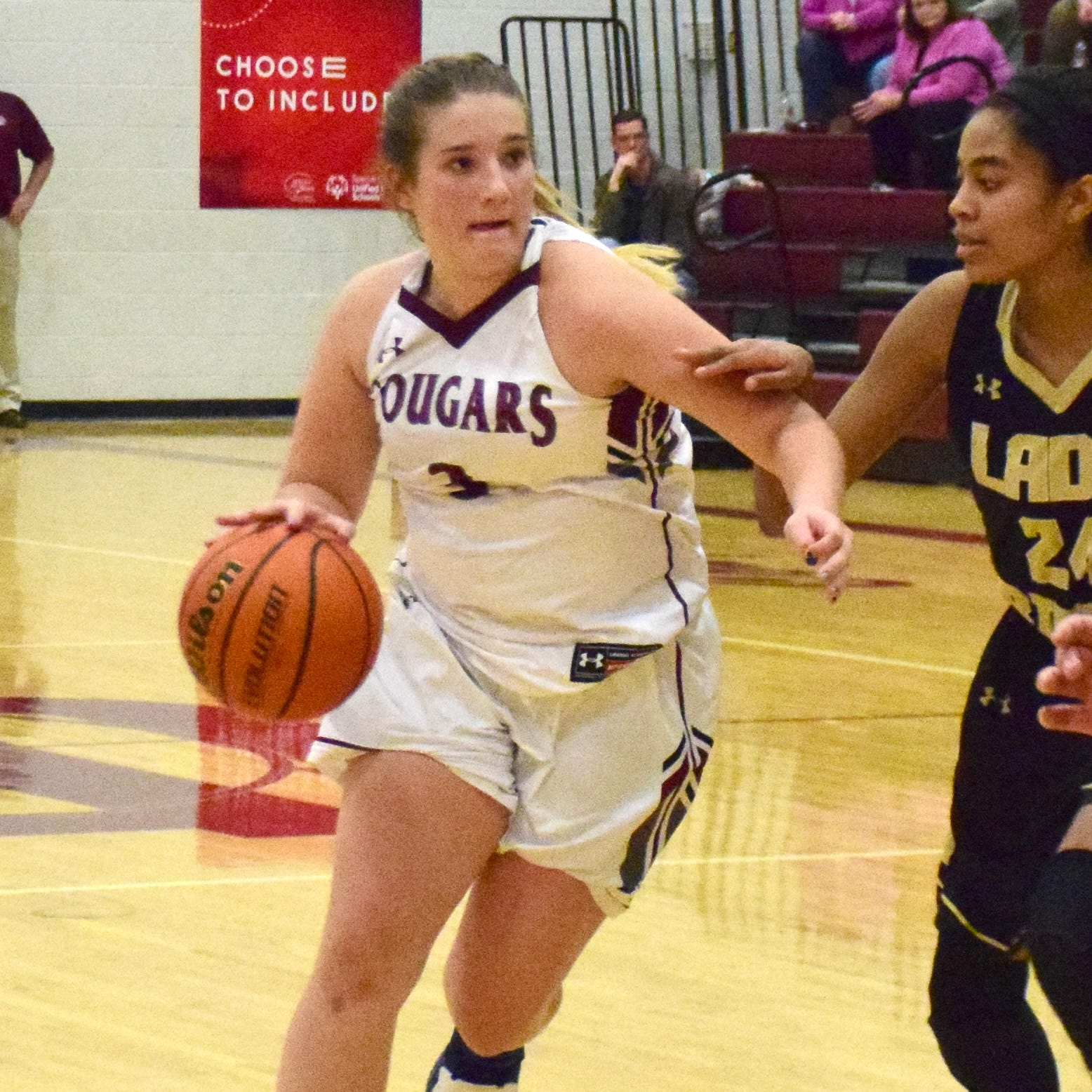 Armentrout's layup at buzzer lifts Stuarts Draft girls past Buffalo Gap