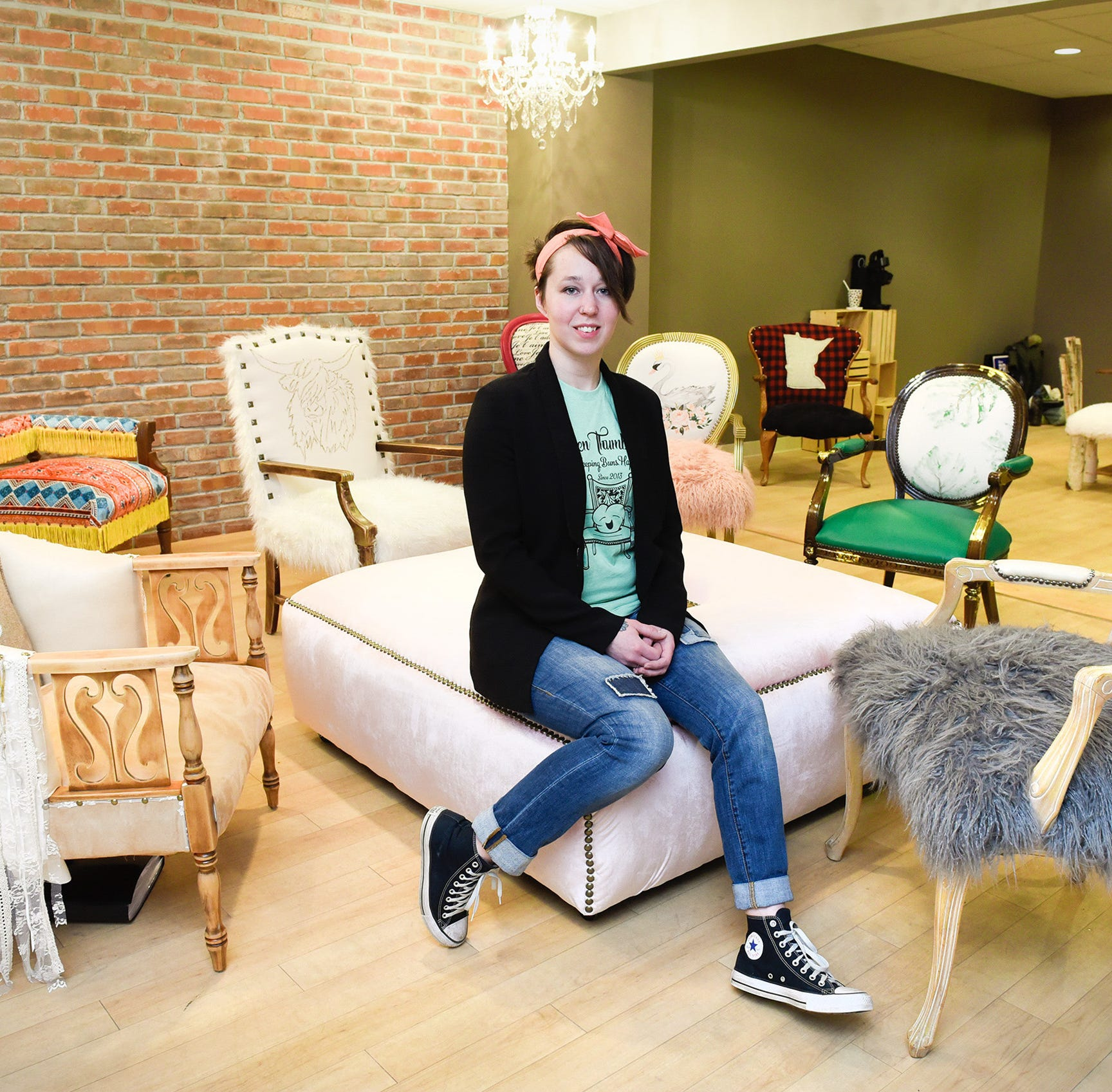 Grab a seat: Green Thumb Etc. offers creative chairs and custom furniture reupholstery