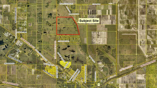 Florida Power & Light Co. is seeking approval from Martin County to build a 566-acre solar farm on the east side of Southwest Allapattah Road near Indiantown.