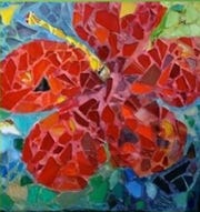 A mosaic by Anita Prentice.