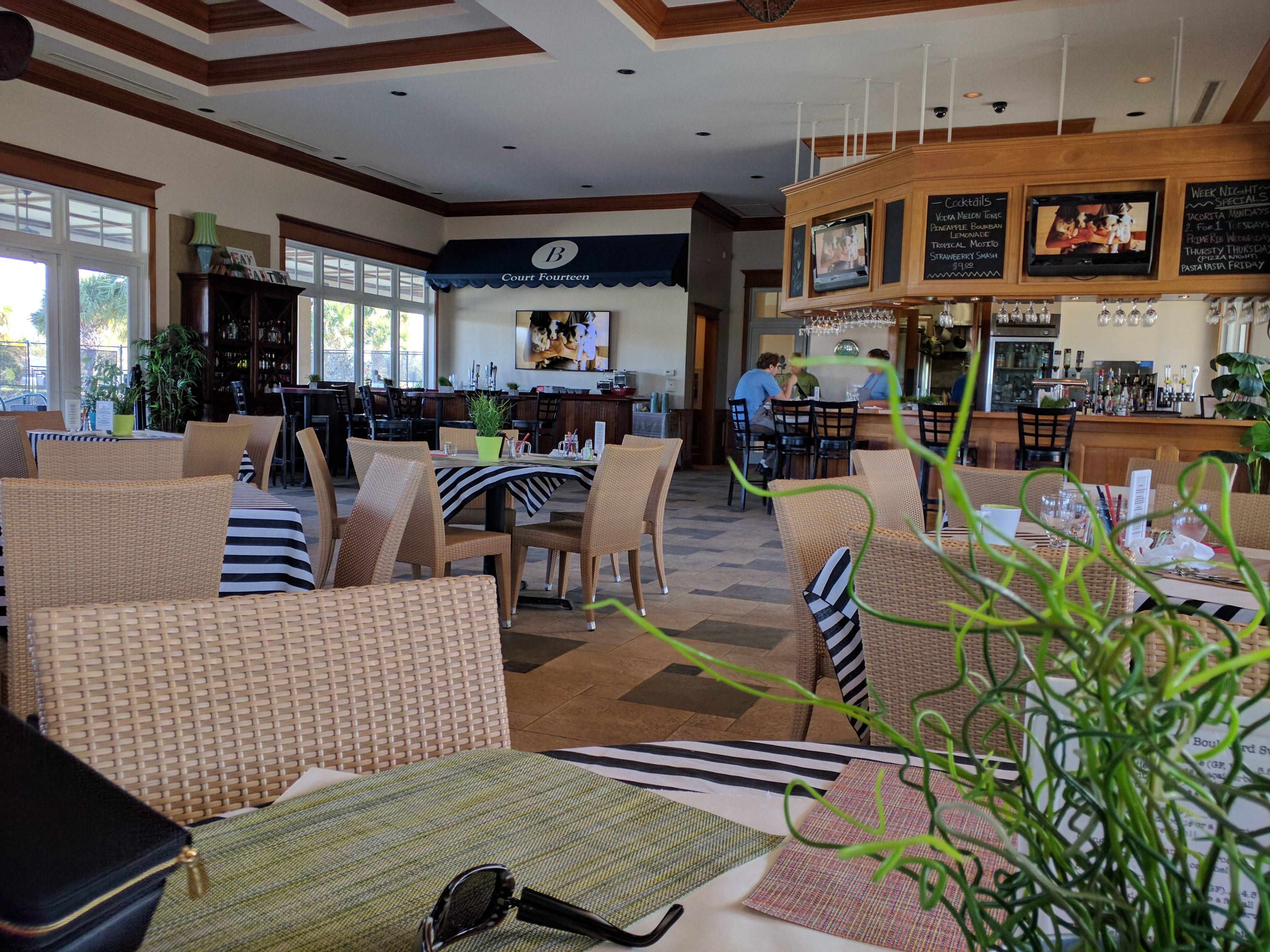 Counter Culture now resides in a bright, modern space in The Boulevard Tennis Club in Vero Beach.