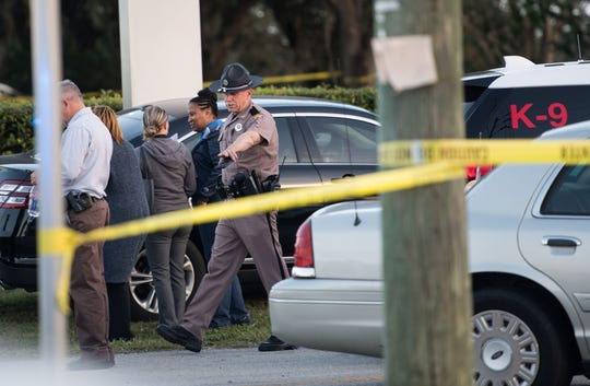 Five people were killed Wednesday, Jan. 23, 2019, at a SunTrust Bank branch in Sebring, Fla., on U.S. 27 after a man, identified as Zephen Xaver, entered the building and began shooting. He was later taken into custody after SWAT negotiated with him and he surrendered.