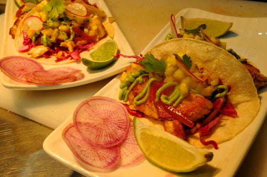 A fish taco plate is one of the lunch options at The Shores Restaurant in Oxnard. The restaurant prides itself on making its items from scratch and using local ingredients, like fish caught in Ventura in the tacos.