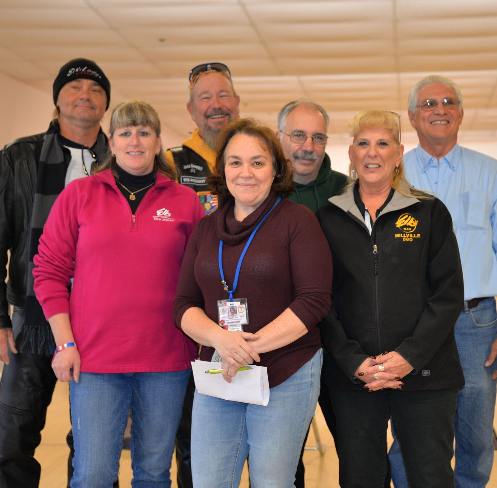 Veterans benefit from Elks' motorcycle run