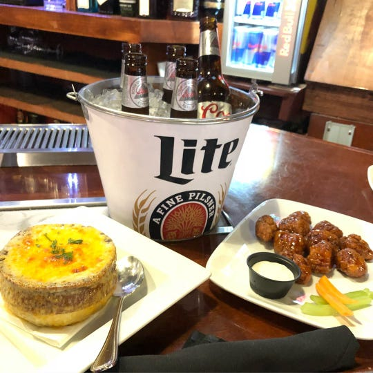 Look for plenty of food and drink deals at Karma in Nyack come Super Bowl Sunday.