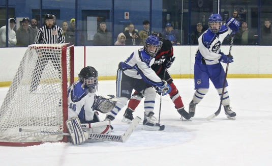 Aiden O'Connor made 40 saves for Pearl River in a 3-3 tie with North Rockland last week.