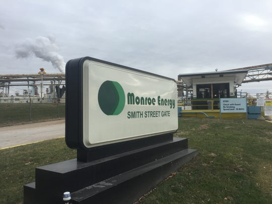 Emergency crews were called out to the Monroe Energy refinery for a report of a hazardous material situation.